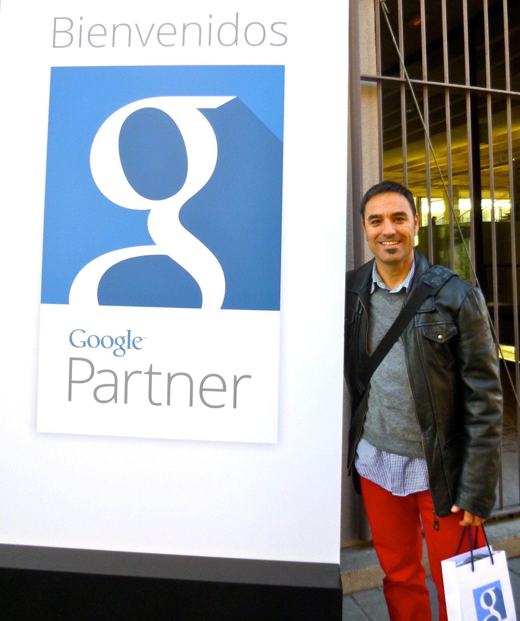 David Escolano en la presentación de Google Partners