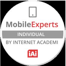 Certificado Mobile Expert obtenido por David Escolano