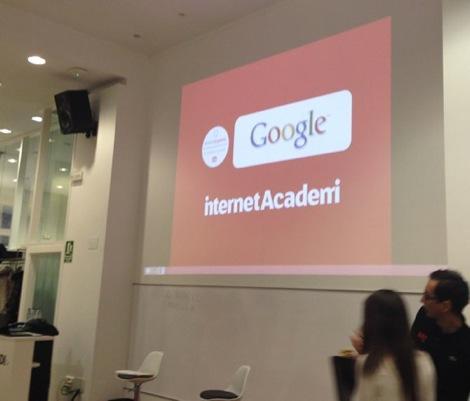 Formación Mobile Experte de Google en Internet Academi