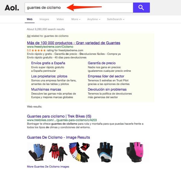Anuncios en la Red Búsqueda con los socios de Google