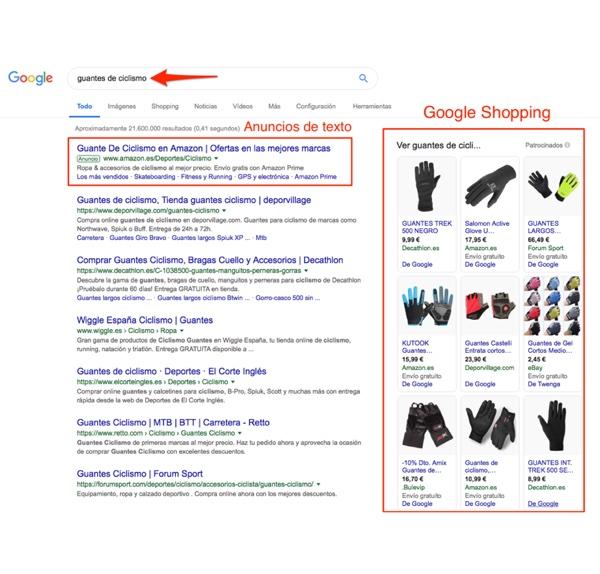 Anuncios de la Red de Búsqueda de Google