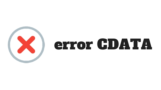 error cdata en adwords