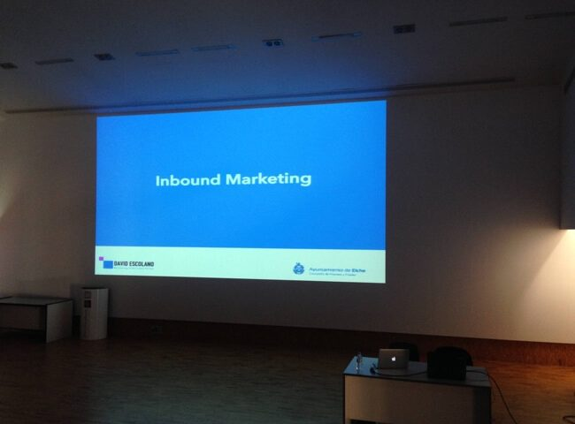 Curso de inbound marketing en Elche - Alicante