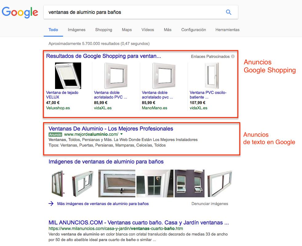 Publicidad en google adwords para empresas de materiales de construcción