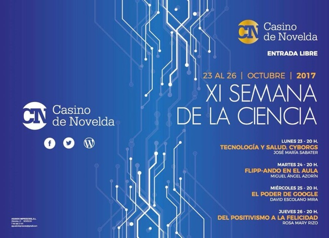 semana de la ciencia CASINO NOVELDA